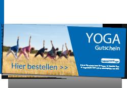 Yoga Gutschein kaufen