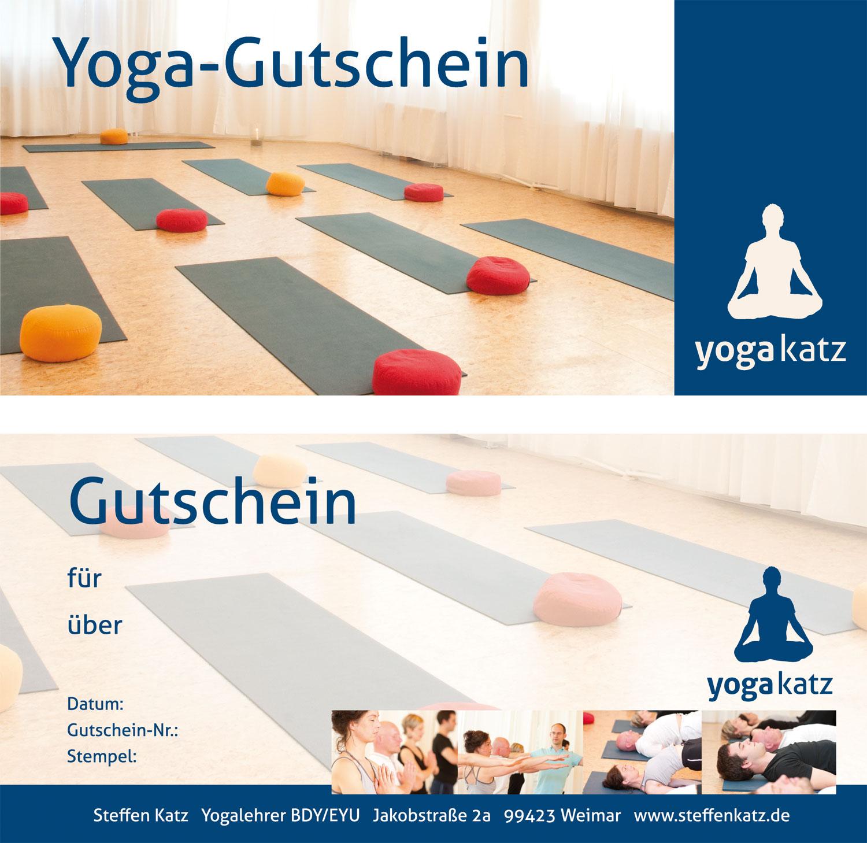 Yoga Gutschein Weimar